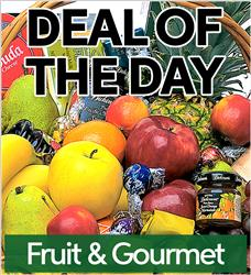 Fruit & Gourmet Basket (FGB-DEAL1)