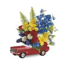 Teleflora's '65 Ford Mustang Bouquet (T15F100A)
