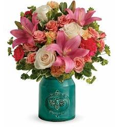 Teleflora's Country Skies Bouquet (T18M305A)