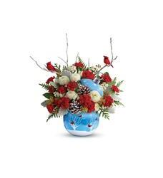 Teleflora's Cardinals In The Snow Ornament (T18X400A)