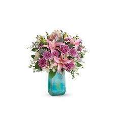 Teleflora's Art Glass Treasure Bouquet (T19M500A)