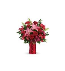 Teleflora's Satin Kisses Bouquet (T19V105A)
