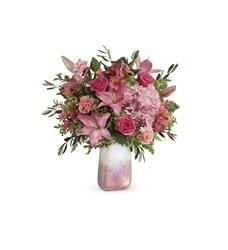 Teleflora's Blushing Gemstone Bouquet (T20V205A)