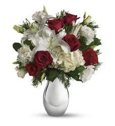 Faith Hill - Silver Noel Bouquet (T406-1A)