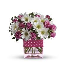 Teleflora's Polka Dots and Posies (T52-3A)