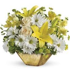 Garden Reflections Centerpiece by Teleflora (TEV26-3A)