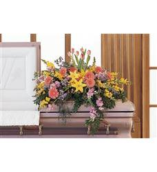Blooming Glory Casket Spray (TF199-7)