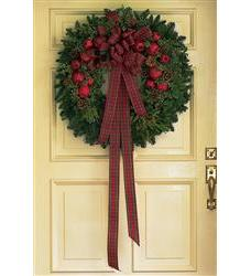 Fresh Wreath with Apples (TF91-1)