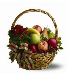 Holiday Fruit Basket (TFWEB277)