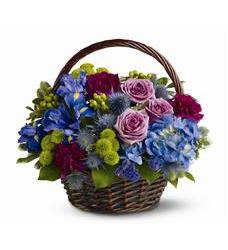 Twilight Garden Basket (TFWEB286)