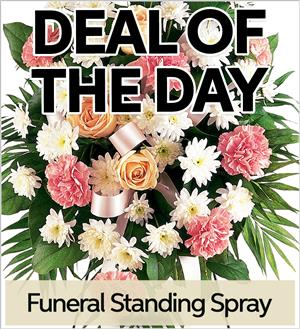 Fresh Funeral Standing Spray (FSS-DEAL1)