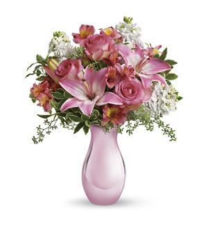 Teleflora's Pink Reflections Bouquet (T52-1A)