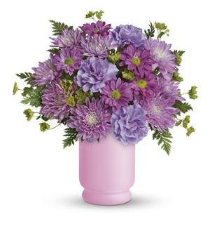 Poetry In Purple Bouquet by Teleflora (TEV24-3A)