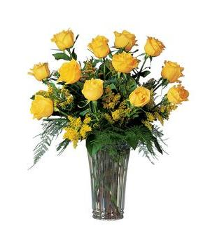 A Dozen Yellow Roses (TF37-1)