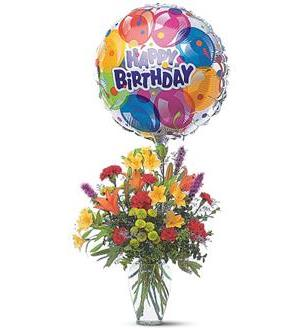 Birthday Balloon Bouquet (TF42-1)