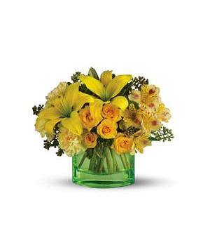 Teleflora's Sweetest Sunrise Bouquet (T403-3A)