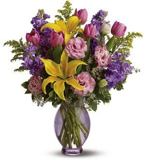 Teleflora's Southern Living Golden Glow Bouquet (TFWEB586DX)